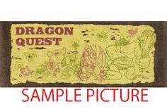 Dragon Quest Long Towel 13×32 inch  SQUARE ENIX JAPAN ANIME GAME 3
