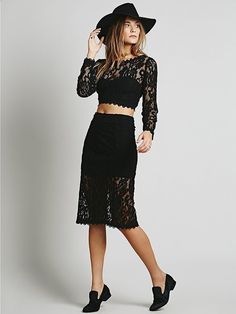 Pin for Later: Co-Ord Sets Are Making Matchy-Matchy More Than Cool Free People Floral Lace Set Free People Floral Lace Set (£138)