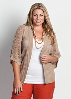 Plus Size Cardigans for Women - Plus Size Bolero | Plus Size Shrugs - Virtu
