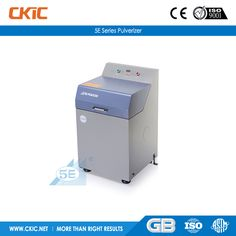For details of 5E Series Pulverizer, please check: http://www.ckic.net/products/sample-preparation-equipment/5e-series-pulverizer.html
