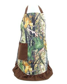 Camo apron - Sass N Frass. When placing an order please remember to put Stacy Hinton as your rep. Thank you. Happy shopping. :)