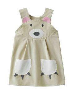 Polar Bear Girls Dress by wildthingsdresses on Etsy