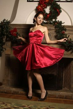 A flare of red Satin Dresses, Silk Dress, Gowns, Formal Dresses, Silk Satin, Flare, Prince, Red, Style