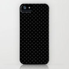 Black Cross iPhone & iPod Case by ljus - $35.00