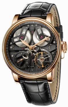 Today's Haute Time Watch of the Day is the by Arnold & Son. This impressive creation from the Arnold & Son Royal Collection is a beautiful exa Dream Watches, Fine Watches, Luxury Watches, Cool Watches, Watches For Men, Men's Watches, Arnold Son, Gentleman Watch, Watch Blog