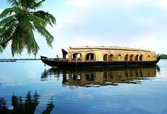 Kerala Backwarter @ Top 12 Things to do in Kerala and Brag About Later! @ No Facebook update about Kerala can be complete without an image of you holding a beer while sitting on the deck of a houseboat, cruising languidly in the backwaters of Kerala. @ Source : http://www.tripigator.com/blog/top-things-to-do-in-kerala-and-brag-about-later/