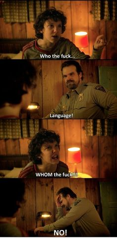 Stranger Things. This may be the meme that gets me started on this show.