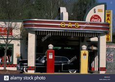 Usa Pigeon Forge Tennessee Old Gas Station Dollywood Amusment Park ...