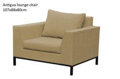 Antigua lounge chair - sand