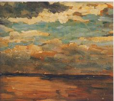 Sunset over the Sea by Winston Churchill