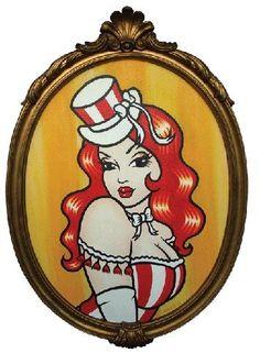 'Circus-Lady' Claudia Hek
