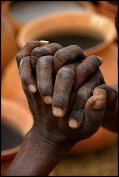 hands must be clean, no dirt under the nails, no nail polish