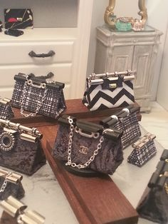 Binder Clip purses handmade by Alicia Brown