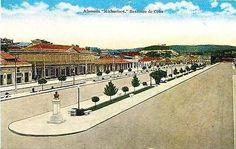 Santiago Cuba 1940s Alameda Michaelsen Mall Collectible Antique Vintage Postcard