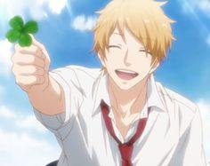 Hashiba Natsuki Days Anime, Anime Guys, Manga Anime, Jackson Stone, Otaku, Nijiiro Days, Wolf Girl, Manga Love, Shoujo