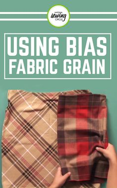 Kair Bjordahl will help you get started making a garment on the bias, adding bias strips to a project, or binding a project using bias binding. She introduces you to her three steps to learning about the basics of grain, shows how to cut out a pattern piece on the bias, and even showcases some cool garments that will inspire you to get started.