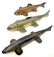 vintage trout deccoy - Google Search