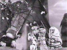 Koza rohatá a jež, 28´, 1979 Pôvodná bábková inscenácia Petra Kasalovského o tom, ako zvieratká pomôžu napraviť krivdu, ktorú spáchal zlý gazda. Výtvarník: Cigán Peter Réžia: Šebová Lucia