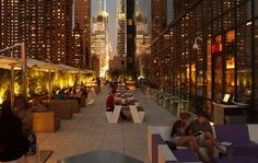 Summer FREE Saturday Rooftop Party @ Yotel - ! New York Ethnic Food Lovers and activities (New York, NY) - Meetup