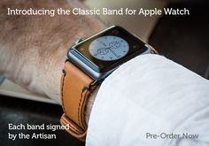 padandquill.com apple watch leather band