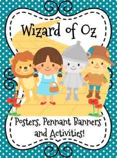 Such a cute packet full of activities and an adorable bulletin board idea! This will be perfect during my Wizard of Oz unit this year! Includes math, literacy and writing!