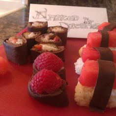 Dessert Sushi!!!
