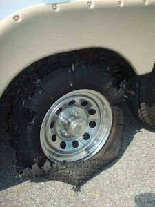 How to avoid a tire blowup while RVing