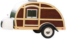 Teardrop Camping Trailer. Orvis.