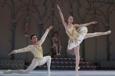 The Nutcracker Ballet, the Sugar Plum Fairy & the prince