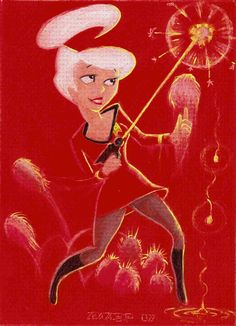 Redshirt Revenge by LEXLOTHOR.deviantart.com on DeviantArt  Judy Jetson (c) Hanna-Barbera & Warner Bros.  Star Trek (c) Paramount Pictures