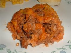 Spanish Rice and Beef Casserole Beef Casserole Recipes, Casserole Dishes, Easy Cooking, Cooking Time, Thing 1, Spanish Rice, Soup Mixes, Rice Soup, How To Double A Recipe