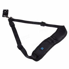 PULUZ PU6001 Quick Release Anti-Slip Soft Nylon Single Shoulder Camera Neck Strap with Metal Hook