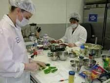 Space food product development.