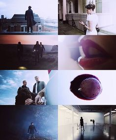 Sherlock Holmes BBC. Has by far the best cinematography of any show I know