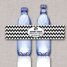 Missionary Farewell Open House Water Bottle by Lucky7dsigns