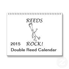 Reeds Rock! 2015 Calendar