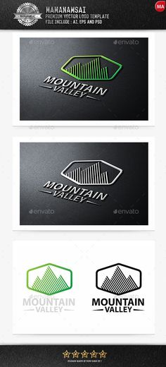 Mountain - Logo Design Template Vector #logotype Download it here: http://graphicriver.net/item/mountain-logo/9270656?s_rank=1664?ref=nexion