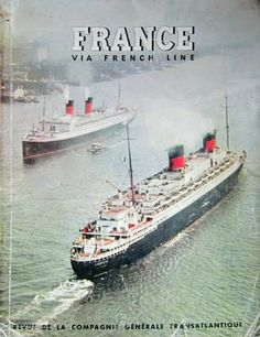 French Line ms De Grasse Pan Am 1972-73 Gourmet Caribbean Fly Cruises Brochure