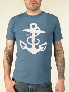Sailor Jerry anchor shirt
