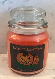 Village Candle JACK O LANTERN Limited Edition 16 ounce *** You can find more details by visiting the image link.