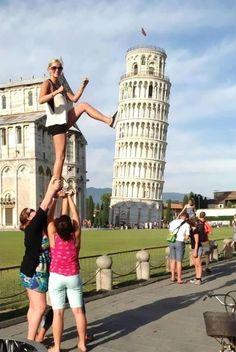 Bu kez Pisa Kulesi Farklı Fantaziler İçin Kullanılmış :)