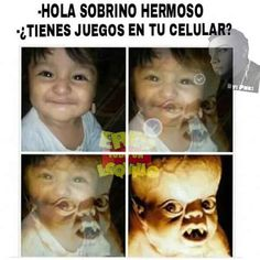 ★★★★★ Imágenes de memes en español para facebook: ¿Tienes juegos en tu celular?…