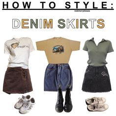 comment which clothing i should do next! - #moodboard #moodboards #outfits #outfit #denim #skirt #denimskirts #skirts #denimskirt #howto #style #howtostyle