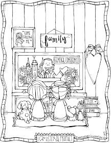 Melonheadz Lds Illustrating Lds General Conference Coloring Page Freebie Lds Conference Activities Lds General Conference Activities Lds General Conference