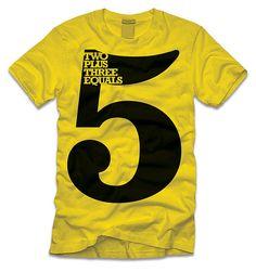 """5"" typo tee"