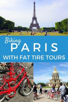 Biking in Paris with Fat Tire Tours | Paris with kids