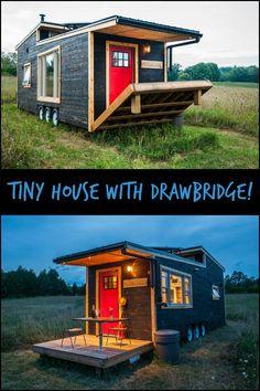 Beautiful Trailer Home With Drawbridge Deck Perfect for Enjoying Al Fresco Dining and Wonderful View