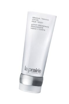 La Praire's moisturizing self-tanner tans your skin slowly and subtly resulting in an even, natural, sun kissed tan.
