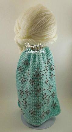 Diy Crochet Doll, Crochet Doll Clothes, Crochet Doll Pattern, Knitted Dolls, Crochet Patterns Amigurumi, Amigurumi Doll, Crochet Crafts, Crochet Yarn, Crochet Projects