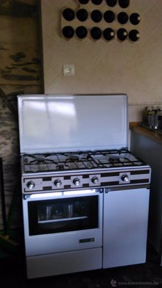 Cocina de gas vintage